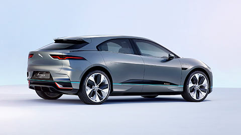 Jaguar All Electric I-PACE Concept