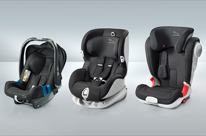 Jaguar XJ Child Seat Options.