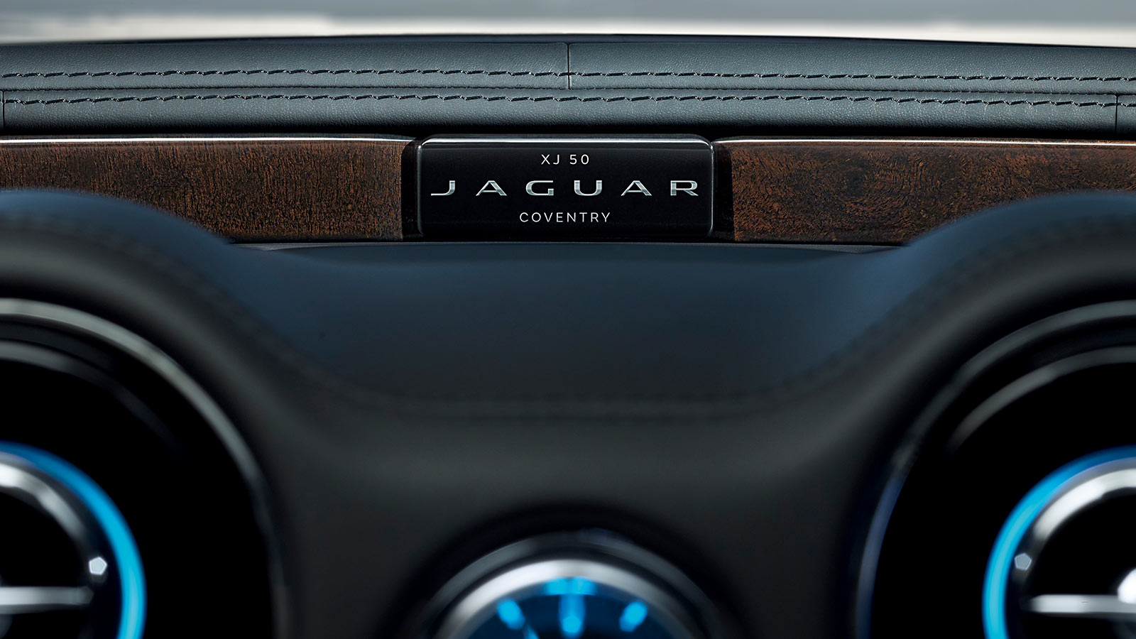 Jaguar XJ50 Dashboard Close Up.