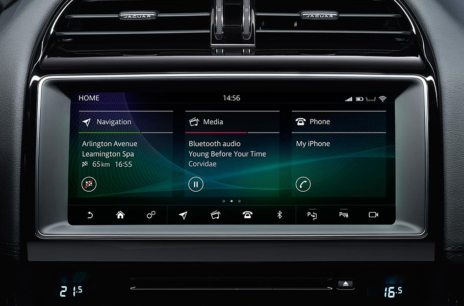 Jaguar XE InControl Touch Screen