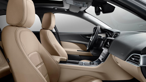 Jaguar XE Prestige Interior Design