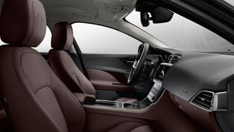 Jaguar XE Portfolio Interior Design