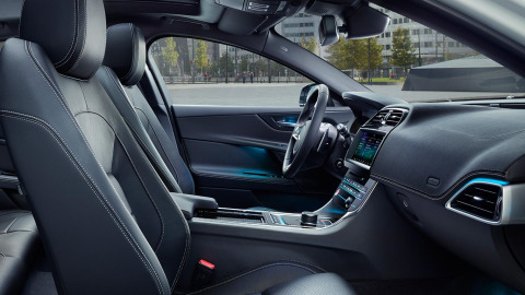 Jaguar XE Landmark Interior Design