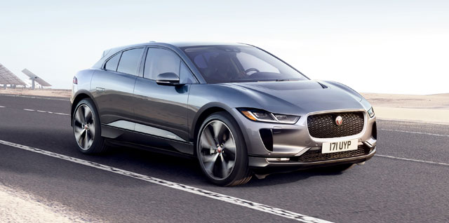 Jaguar f pace build
