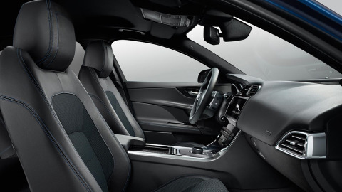 Jaguar XE R-Sport Interior Design
