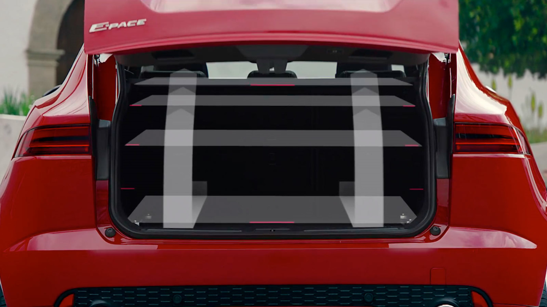 An image of the Jaguar E-Pace Loadspace.
