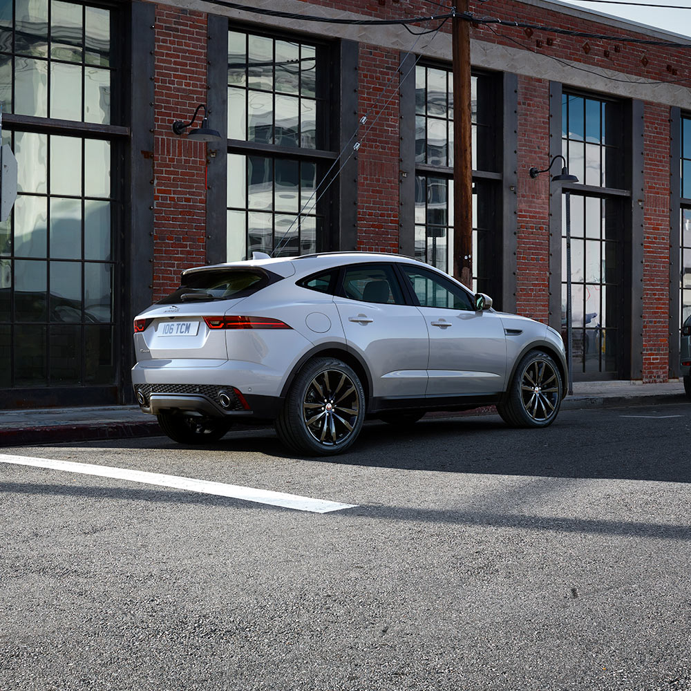 Jaguar E-Pace parked on the road