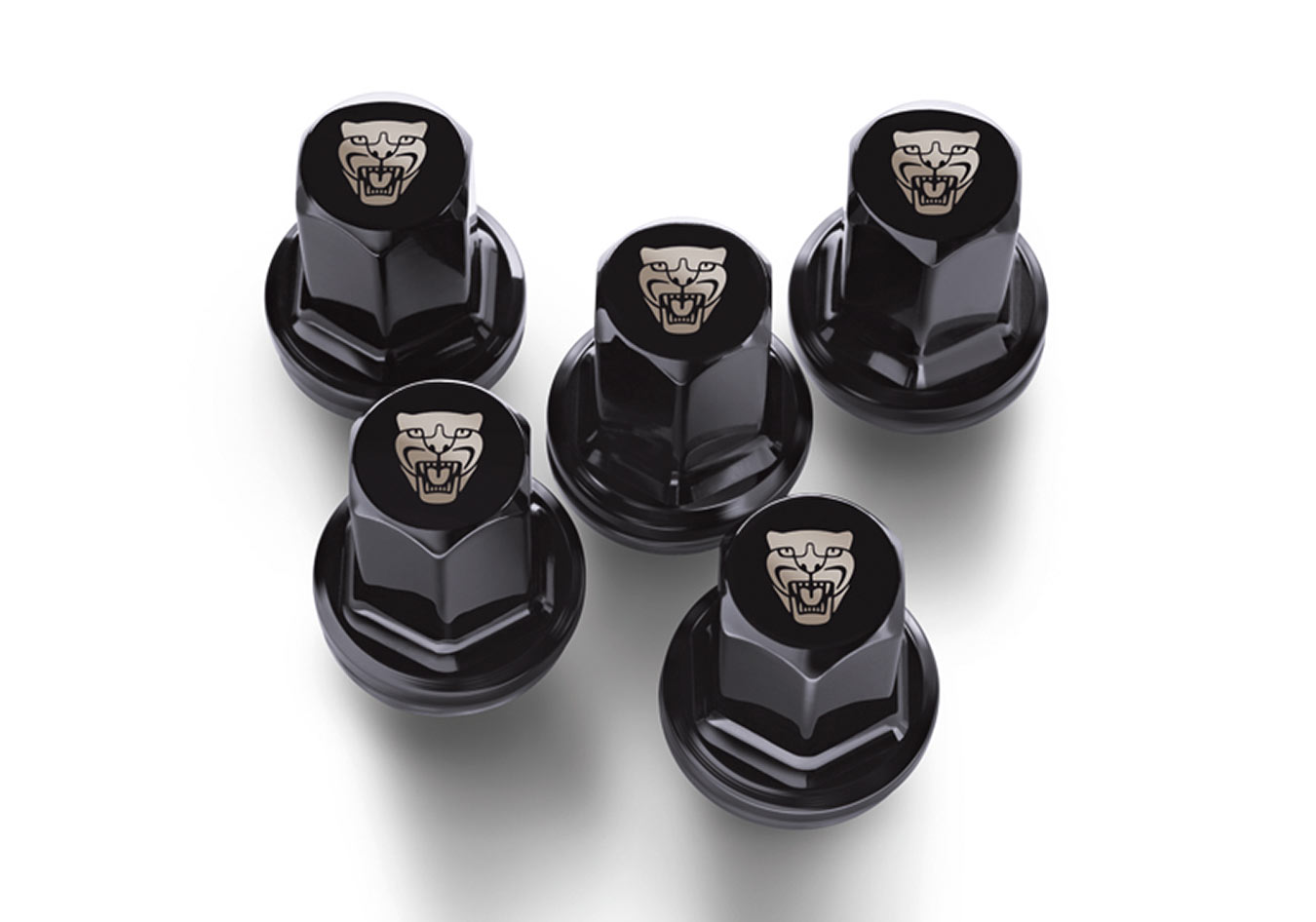Jaguar XJ Growler Wheel Nuts.