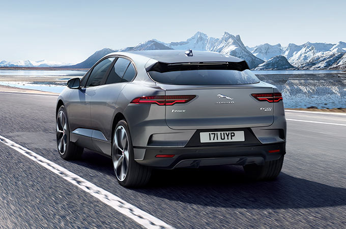 Jaguar I-Pace Rear.