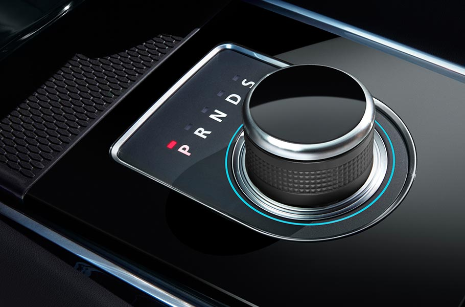 Jaguar F-PACE automatic gear