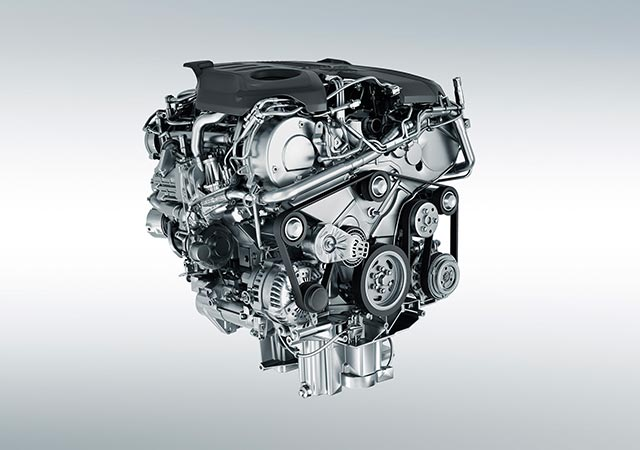 Jaguar 550PS 5.0 litre Supercharged V8 Petrol engine