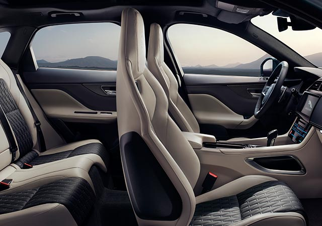 Jaguar F-PACE SVR Luxury Interior Design