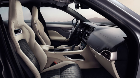 Jaguar F-PACE SVR Luxury Interior