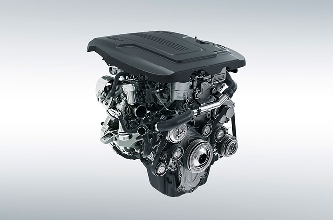F-Type Turbocharged Petrol Engine