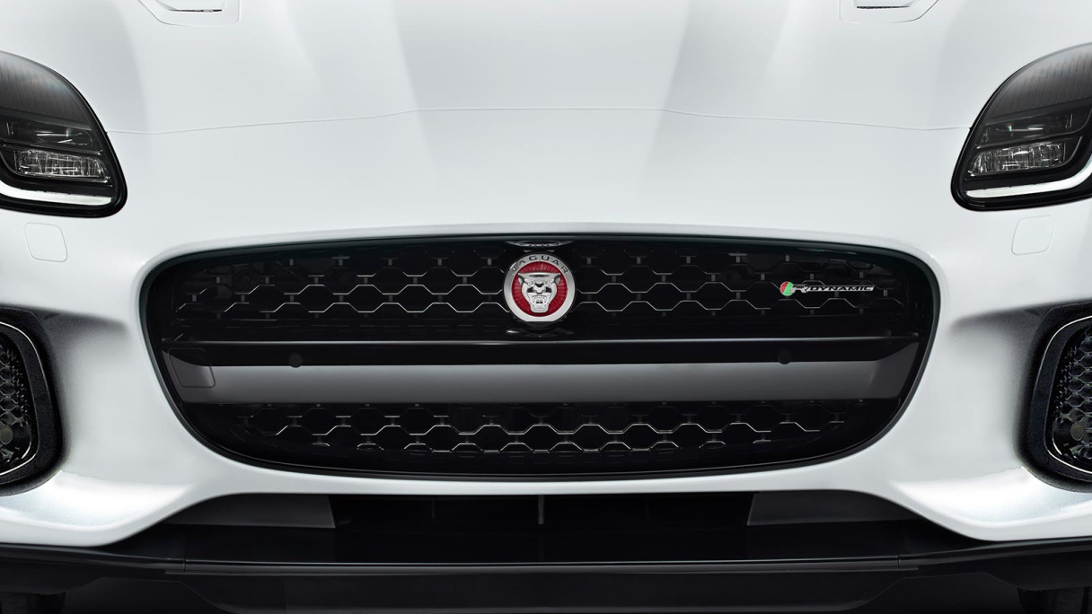 Front Grill Of Jaguar F-Type