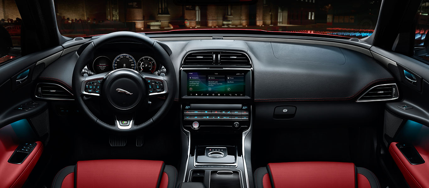 Interior Features Jaguar Xe Beautifully Crafted Sports Saloon
