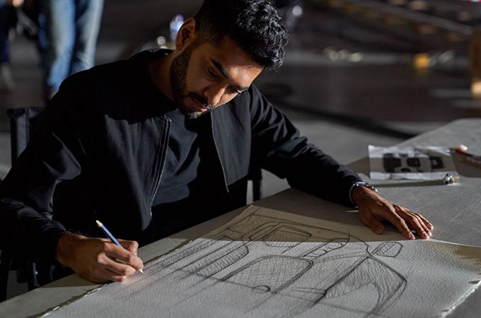 F-PACE Exterior Design Manager, Paven Patel
