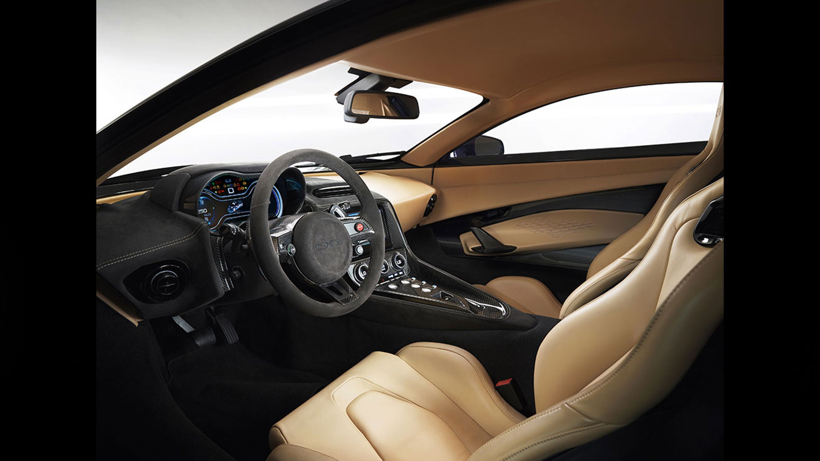 Jaguar C-X75 Interior.