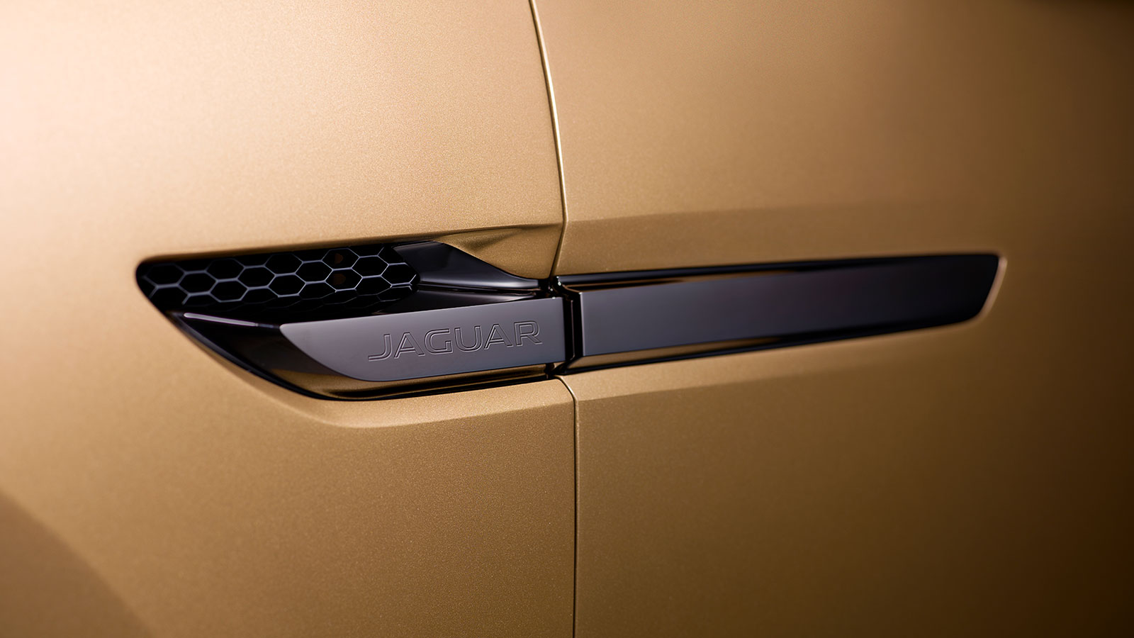 Close up of the side vents of the Jaguar C-X17.