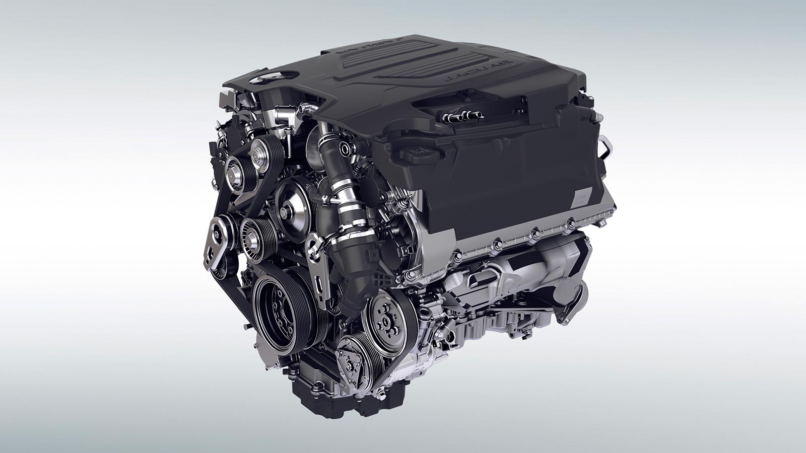 3.0-Liter V6 Supercharged Gas Engine