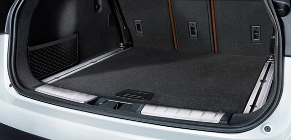Jaguar F-PACE Interior Loadspace Storage Rails