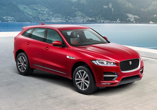 Jaguar F-PACE RSport Model