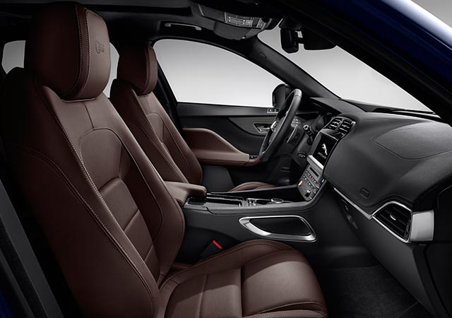 Jaguar F-PACE S Model Interior Design
