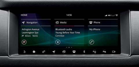Touch Pro Infotainment System Touchscreen