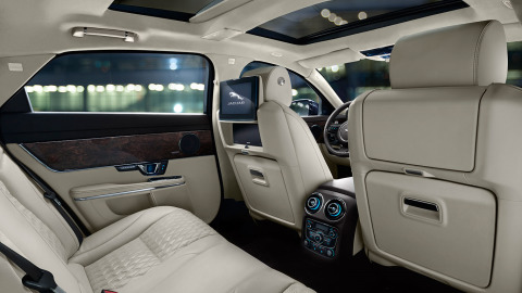Jaguar XJ Interior Design