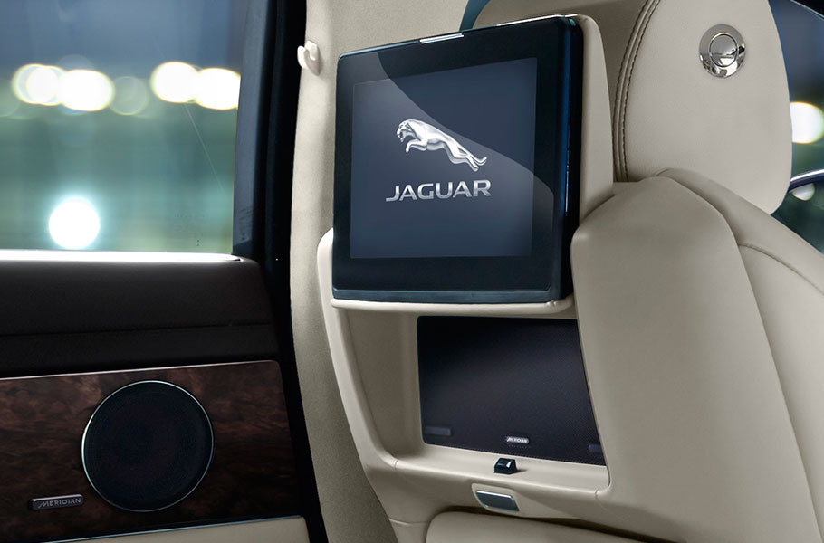 Jaguar XJ Rear Seat Entertainment