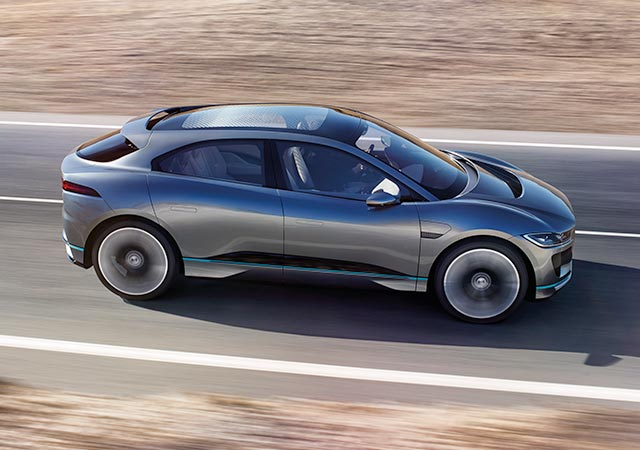 I-Pace Concept More Stories.