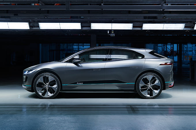 Jaguar I-PACE Concept Thermal Management.
