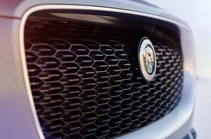 I-PACE front grill.