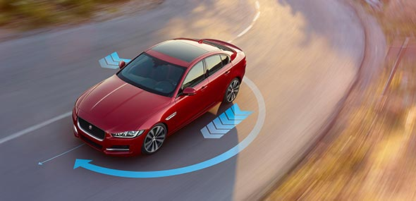 Jaguar XE Torque Vectoring by braking