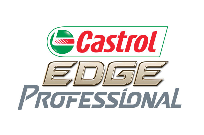 Logo for Castrol EDGE Professional.