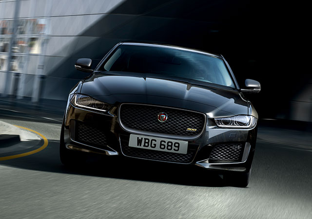 Jaguar XE 300 Sport Model Front View