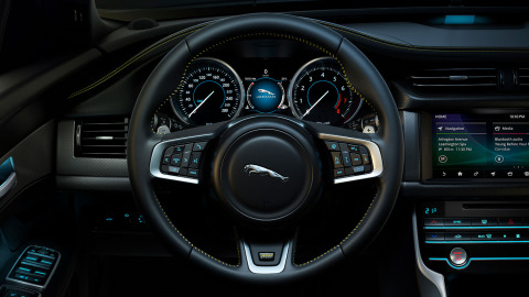 Jaguar XF 300 sport exterior - every part of XF 300 SPORT's cockpit has been meticulously designed and beautifully executed.