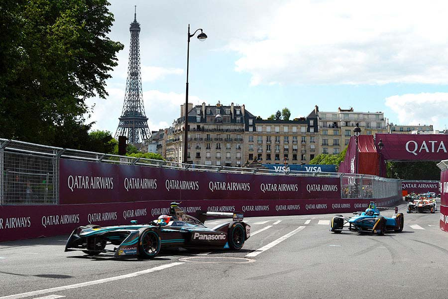 Jaguar Racing Paris.