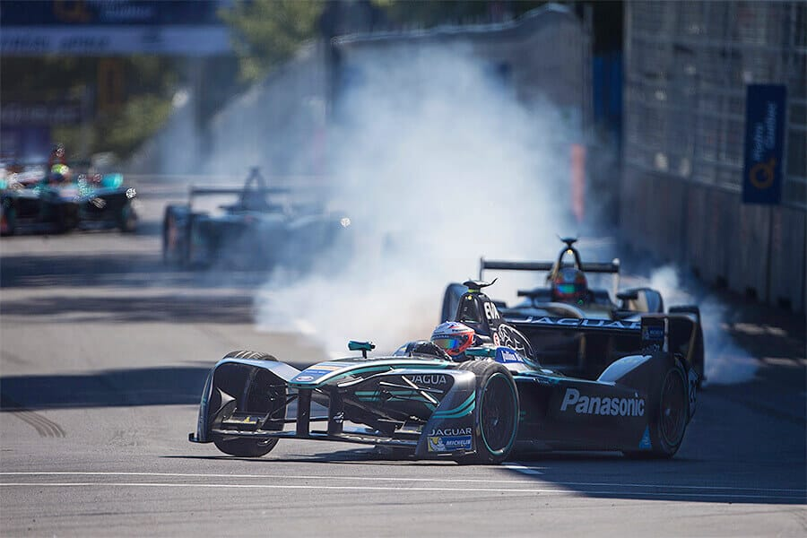 Jaguar Racing Montreal.