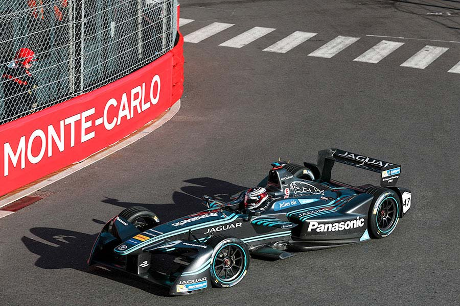 Jaguar Racing Monaco