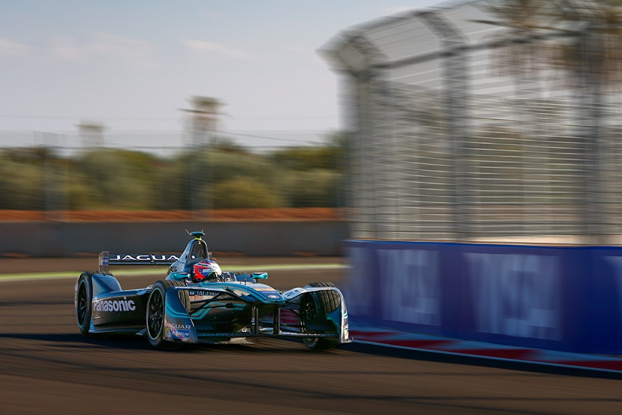 Jaguar Racing Marrakesh.