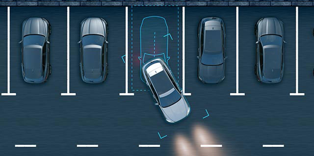 Jaguar F-PACE Park Assist Driving Safety Feature