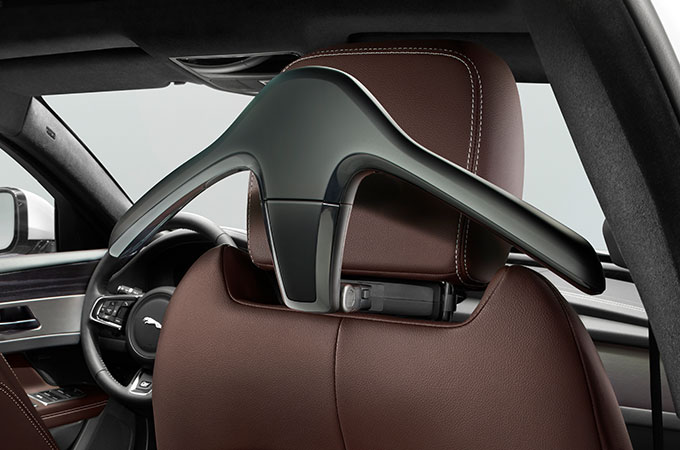 Click and Go hanger from the Jaguar XF Sportbrake Business pack.