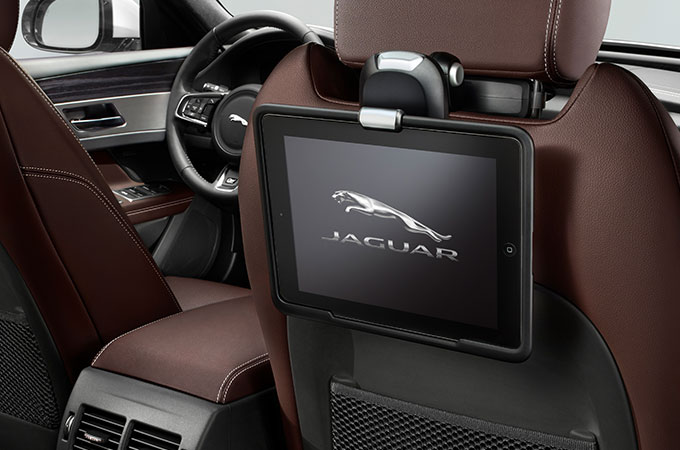 iPad holder Jaguar XF Business Pack Accessory.