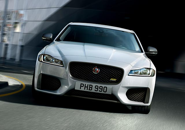 Jaguar XF 300 Sport - 300 Sport's exclusive logo features on the front grille, brake calipers and rear of the XF 300 SPORT.