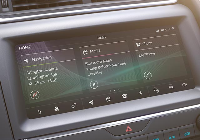 Jaguar InControl Touchscreen