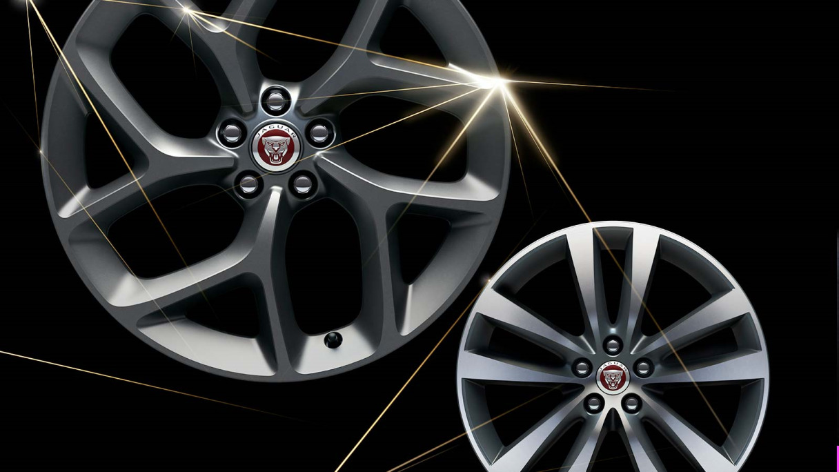 Jaguar XF 300 Sport wheels.