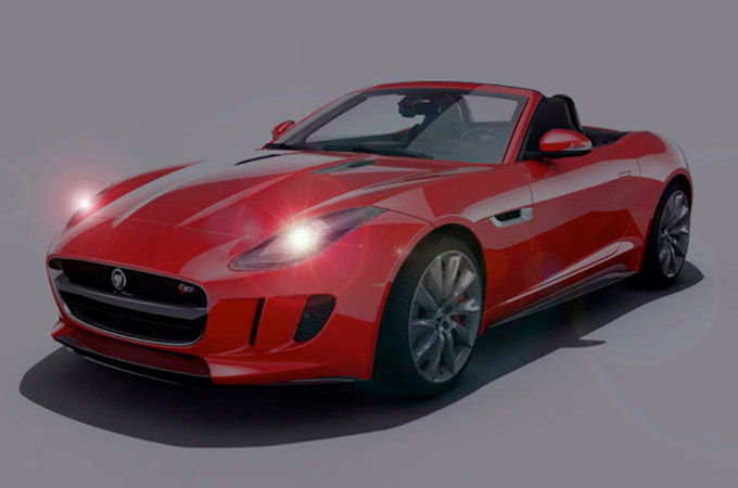 Jaguar F-Type Automatic Headlights And High Beam Assist