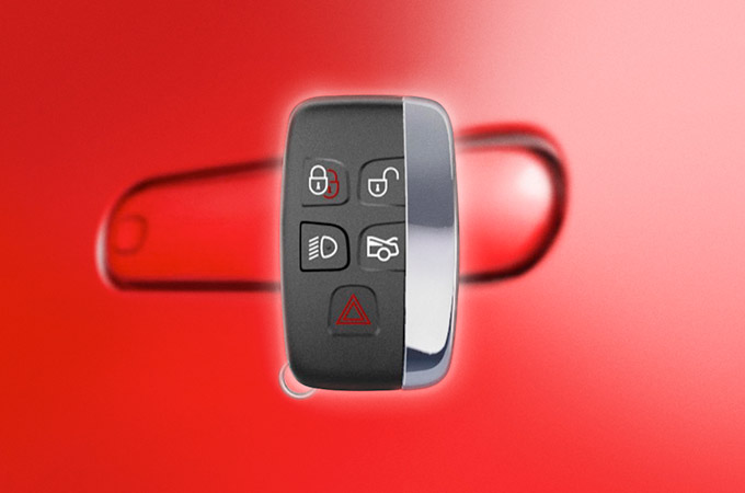 Jaguar F-Type Smart Key