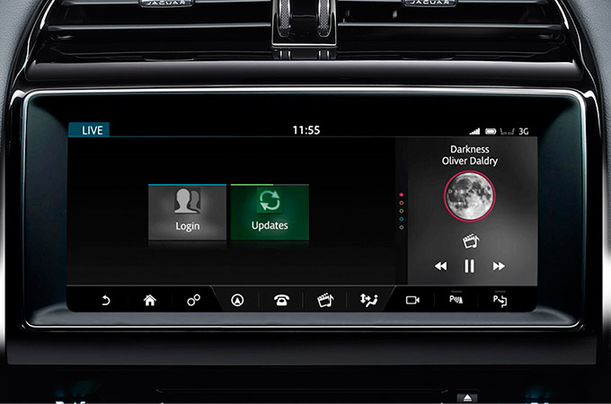Jaguar XE InControl Touch Pro Media System